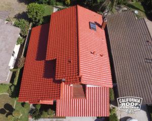 Concrete Spanish S tile - Irvine - Headland Cool Coat