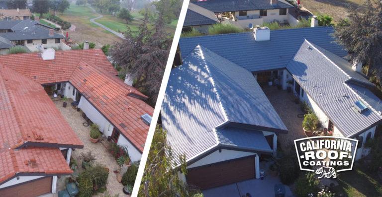Concrete tile Malibu villa style - Hollister - Bushland Cool Coat