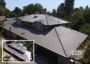 Concrete Malibu villa style - Woodland Hills LA - Jasper Cool Coat