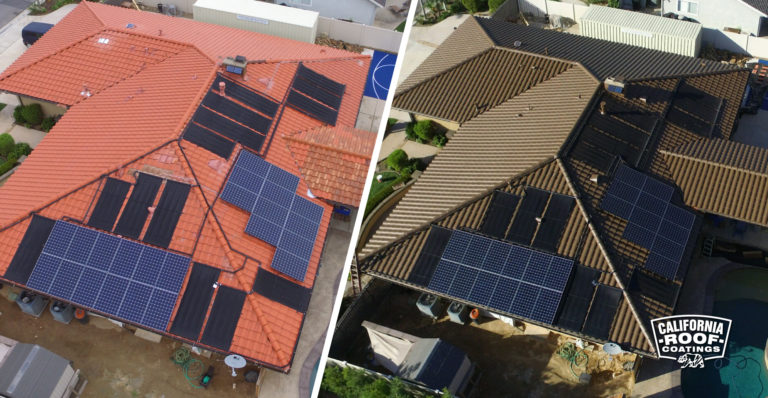 Decra-Tile-San-Jose-Solarw-NXT Black-Before and after
